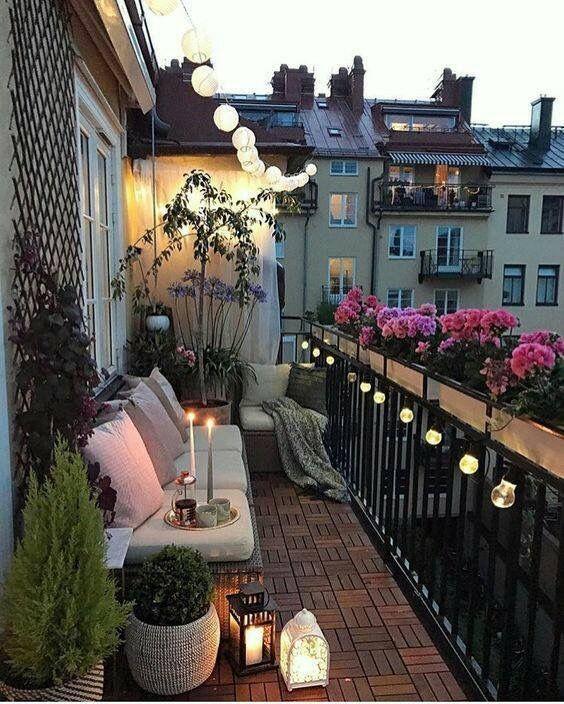 Cómo amueblar balcones pequeños, Valencia.