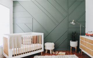 Cómo modernizar una habitación de bebé al estilo Modern Glam.