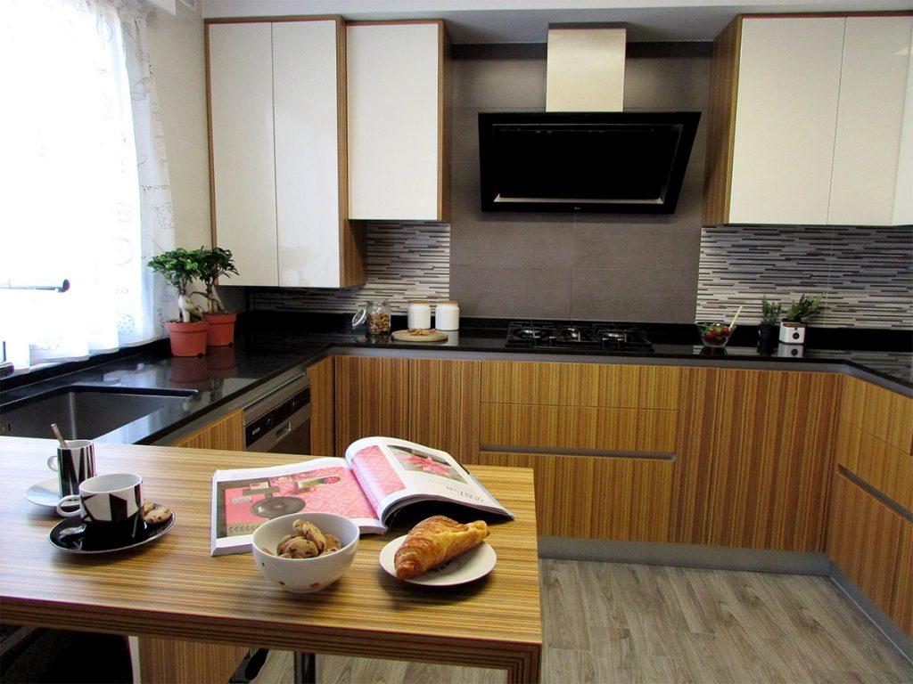 Reforma Integral cocina Vanessa Company Amalgama de Texturas