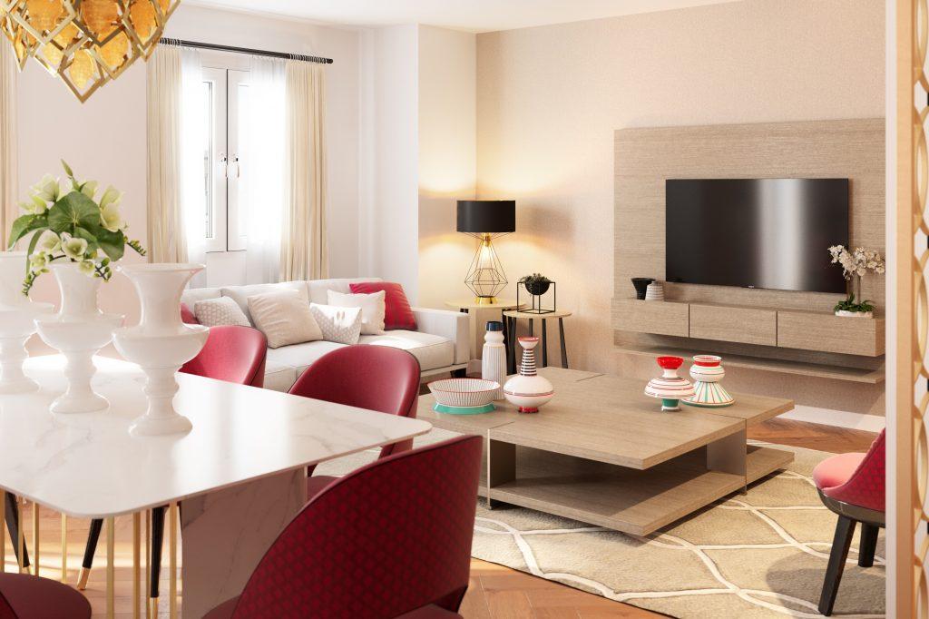 Vanessa Company Interiorista en Valencia. Reforma de vivienda con interiorismo y decoración.