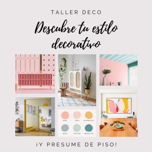 Taller Deco Descubre tu Estilo Decorativo
